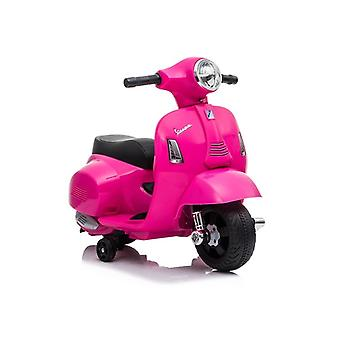 Roze elektrische scooter Vespa GTS 300 Mini