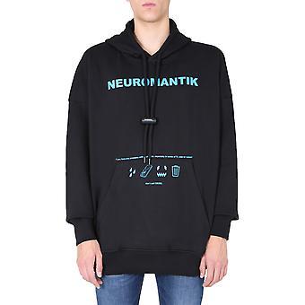 Diesel A010460gral9xx Männer's schwarz Baumwolle Sweatshirt
