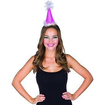 Sivri şapka Lametta kafa bandı mini şapka parti şapka şapkaları