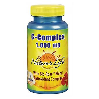 Nature's Life C-Complex, 1000 mg, 50 tabs