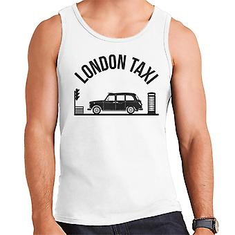 London Taxi Company TX4 At Traffic Lights Men's Vest