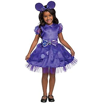 Girl's Minnie Potion Purple Classic Toddler Costume