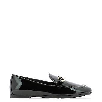 Salvatore Ferragamo 727758 Women's Black Patent Leather Loafers