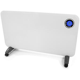 Futura 2000W Electric Panel Heater Intelligent 24 Hour 7 Day Timer Bathroom Safe