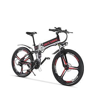 الدراجة الكهربائية الدراجة بطارية ليثيوم مخفية / عالية السرعة محرك الإطار أضعاف، لينة
