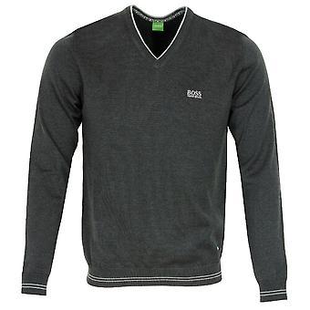 Boss Men Athleisure Vime V-Neck Sweater Jumper 50378794 031