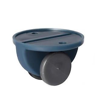 4pcs Adhesive Pulley Storage Box- Trash Can Self-adhesive Pulley, Home No Noise