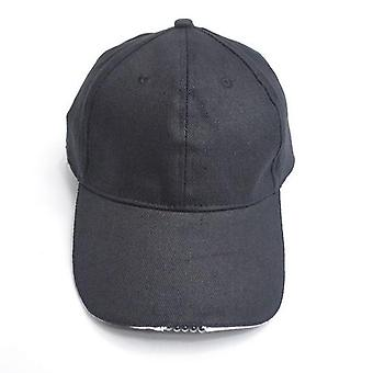 Adjustable 5 Led Lamp Battery Powered Hat With Led  Light Flashlight