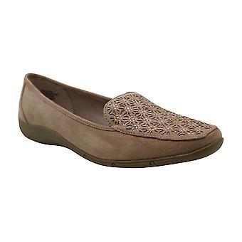 Karen Scott Womens Jodie Square Toe Loafers