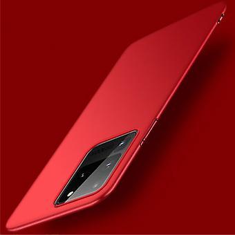 USLION Samsung Галактика S20 Плюс Магнитные Ультра Тонкий корпус - Hard Matte Дело Обложка Красный