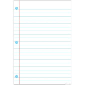 "Smart Poly Notebook Page Chart, Dry-Erase Surface, 13"" X 19"""