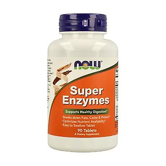Super Enzymes Digestive Complex 90 tablets