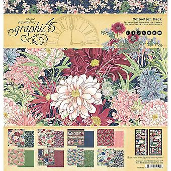 Grafisch 45 Blossom 12x12 Inch Collection Pack
