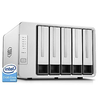 Terramaster f5-221 nas 5bay cloud storage intel dual core 2.0ghz plex media server network storage (