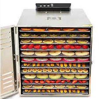 12 Tabletts große Lebensmittel Dehydrator Pet Snacks Dehydrierung Trockner Maschine