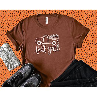 Happy Fall Y'alla Truck Tee