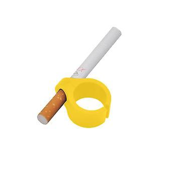 Silicone Smoker Finger Ring Hand Rack Cigarette Holder