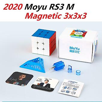Magnetic Magic Cube (stickerless) Toy, Speed Puzzle