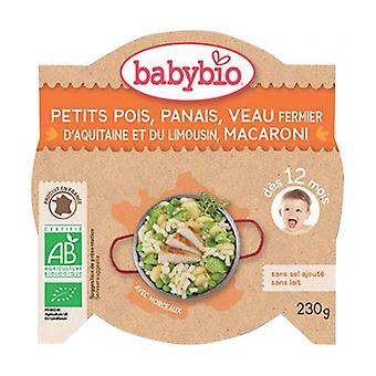 Slow Cooked Peas Parsnip Aquitaine Farm Veal Macaroni 230 g