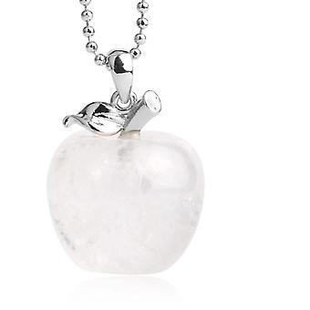 Natural Stone Pendant Crystal Necklace