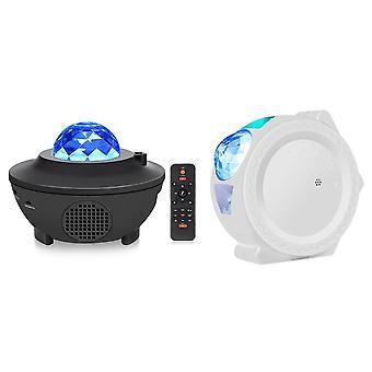 Värikäs projektori Bluetooth Usb Ääniohjaus Musiikkisoitin Led Night Light