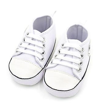 الصيف قماش الرضع القطن النسيج أول السائرون أحذية لينة الوحيد