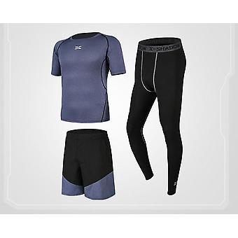 Män Komprimering Sportkläder Kostymer