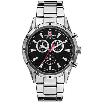 Mens Watch Swiss Military Hanowa 06-8041.04.007, Quartz, 42mm, 10ATM