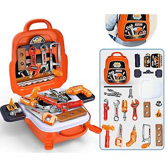 Kids Tool Sets For Boys Age Carpenter Preschool Fixing Tool Kit With Box