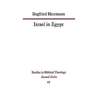 Israel Egyptissä kirjoittanut Siegfried Herrmann - 9780334051664 Kirja