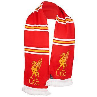 47 Brand Fan Eșarfă - Liverpool FC roșu / dungi