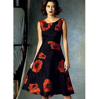 Vogue coser patrón 1422 se pierde petite back-v vestido tamaño 14-22 sin cortar
