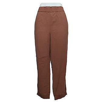 ロゴ バイ ロリ ゴールドスタイン 女性&アポス;s パンツ 織りジョガー ポケット ピンク A371356