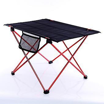 طاولة ألومنيوم قابلة للطي محمولة للتخييم في الهواء الطلق