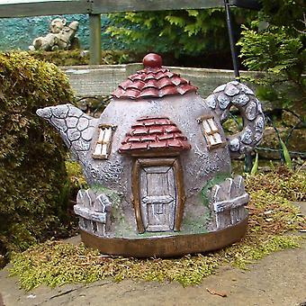 2x Secret Fairy Garden Theepot Paleis in Col Box