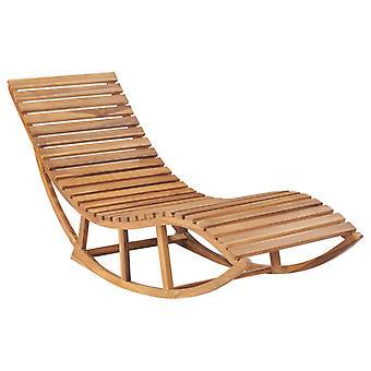 vidaXL swingbed couch teak solid wood