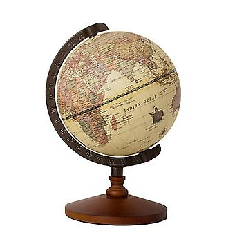 22cm World Globe Earth Map In English
