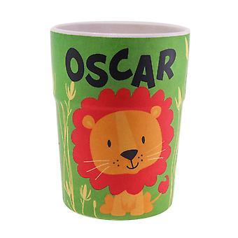 History & Heraldry Bamboo Crew Beaker Lions & Tigers Oscar