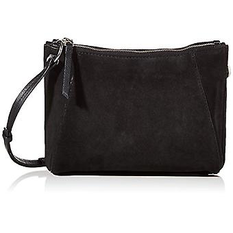PIECES PCMILKA Suede Cross Body, Case. Woman, Black, One Size
