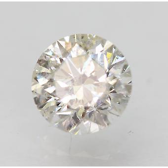 Zertifiziert 0.61 Karat G SI1 Runde Brillant Verbessert natur Diamant 5.34mm 3VG