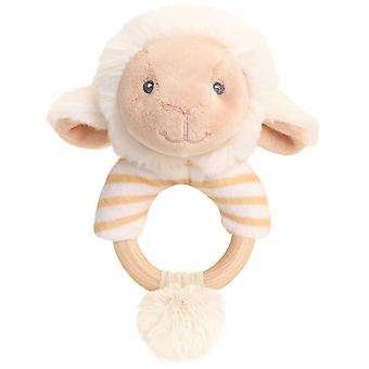 Keel Toys Keeleco Lullaby Lamb Ring Rattle