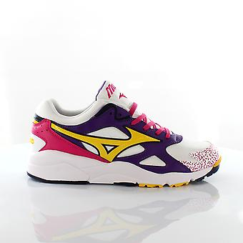 Mizuno Sport Style Sky Medal White Lace Up Mens Running Trainers D1GA192260