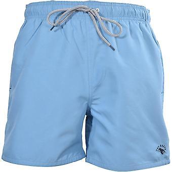 Ted Baker Classic Swim Shorts, Mid Blue
