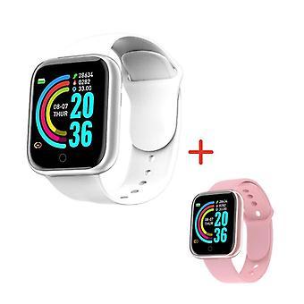 D20 الأساور الذكية مراقبة معدل ضربات القلب relojes inteligentes smartband لنظام التشغيل ios الروبوت pulseira ساعة تعقب النوم