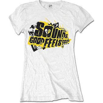 5 Seconds of Summer - Sounds Good Album Women's X-Large T-Shirt - White