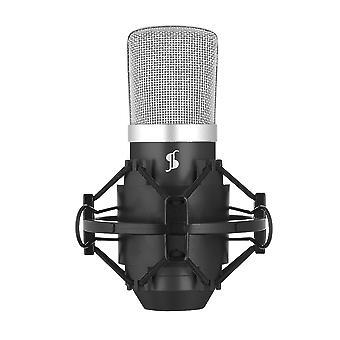 Stagg SUM40 USB condensator microfoon voor computers / laptops