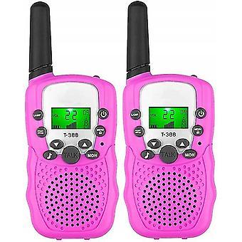 Pink kids walkie-talkies dt9965
