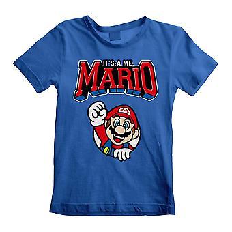 Super Mario Childrens/Kids Mario Varsity T-Shirt