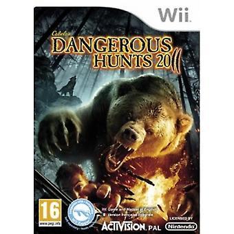 Cabelas Dangerous Hunts 2011 Game Wii