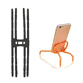 Uchwyt na smartfon Elastyczny uchwyt na wrzeciona - czarny